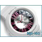 ベビーG BABY-G CASIO カシオ baby-g ベビーg ネオンダイアルシリーズ アナデジ 腕時計 ホワイト×ピンク BGA-160-7B2DR