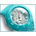 ショッピングbaby ベビーG BABY-G CASIO カシオ baby-g ベビーg アナデジ腕時計 Neon Marine Series ネオンマリンシリーズ アクアブルー BGA-170-2BDR
