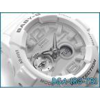 ベビーG ベビージー BABY-G Gライド G-LIDE タイドグラフ CASIO カシオ 海外モデル アナデジ 腕時計 ホワイト 白 BGA-180-7B1DR BGA-180-7B1