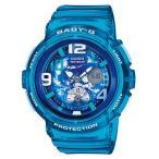 BABY-G ベビーG ベビージー ビーチ・トラベラー・シリーズ Beach Traveler Series カシオ CASIO アナデジ 腕時計 ブルー BGA-190GL-2BJF 国内正規モデル