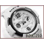 ショッピングbaby Baby-G ベビーG babyg カシオ CASIO アナデジ 腕時計 ホワイト シルバー BGA-210-7B1CR BGA-210-7B1