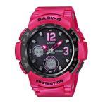 BABY-G ベビーG カシオ CASIO マルチバンド6 電波 ソーラー アナデジ 腕時計 ピンク BGA-2100ST-4BJF 国内正規モデル