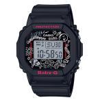 BABY-G ベビーG ベビージー GRAFFITI FACE グラフィティフェイス カシオ CASIO デジタル 腕時計 ブラック BGD-560SK-1JF 国内正規モデル
