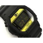 [訳有り外箱に破損有り]G-SHOCK Gショック 35周年限定モデル NEW ERA(ニューエラ)コラボ 逆輸入海外モデル カシオ 腕時計 ブラック ゴールド DW-5600NE-1