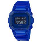 CASIO G-SHOCK 限定 Color Skeleton Series デジタル 腕時計 ブルー スケルトン DW-5600SB-2DR 逆輸入 海外モデル