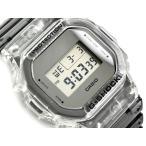 G-SHOCK Gショック 限定モデル クリアスケルトン 逆輸入海外モデル カシオ デジタル 腕時計 スケルトン グレー DW-5600SK-1
