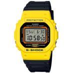 ショッピングShock G-SHOCK Gショック 限定 THROW BACK 1983 カシオ CASIO デジタル 腕時計 イエロー ブラック DW-5600TB-1JF 国内正規モデル