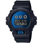 ショッピングShock G-SHOCK Gショック ジーショック カシオ CASIO デジタル 腕時計 ブラック ブルー DW-6900MMA-2JF 国内正規モデル