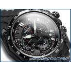 エディフィス EDIFICE カシオ CASIO クロノグラフ メンズ腕時計 ブラック ウレタンベルト EF-550PB-1AVDF