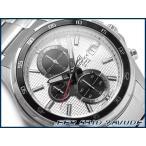CASIO EDIFICE カシオ 海外モデル エディフィス アナログ メンズ腕時計 クロノグラフ IPブラックベゼル ブラック×ホワイトダイアル シルバー EFR-531D-7AVUDF
