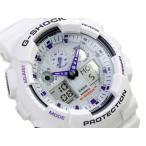 CASIO Gショック 新型 アナデジ腕時計 GA-100A-7ADR