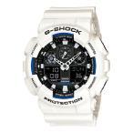 ショッピングShock G-SHOCK Gショック ジーショック g-shock gショック アナデジ ブラック ホワイト GA-100B-7AJF