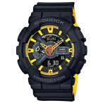 ショッピングShock G-SHOCK Gショック 限定 Black&Yellowシリーズ カシオ アナデジ 腕時計 イエロー ブラック GA-110BY-1AJF 国内正規モデル