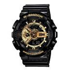 ショッピングShock G-SHOCK Gショック ジーショック g-shock gショック Black×Gold Series 限定モデル ゴールド ブラック GA-110GB-1AJF