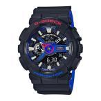ショッピングShock G-SHOCK Gショック ジーショック カシオ CASIO アナデジ 腕時計 ブラック ブルー レッド ホワイト GA-110LT-1AJF 国内正規モデル
