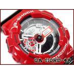 CASIO Gショック アナデジ腕時計 GA-110RD-4A