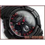G-SHOCK Gショック ジーショック g-shock gショック メタリックカラーズ メタリックブラック×レッド GA-200SH-1