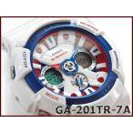 CASIO Gショック アナデジ腕時計 GA-201TR-7ACR