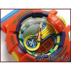 ショッピングCASIO CASIO G-SHOCK カシオ Gショック ジーショック 逆輸入海外モデル 限定 ハイパーカラーズ アナデジ 腕時計 オレンジ スカイブルー GA-400-4A