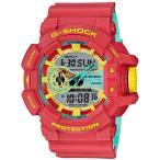 ショッピングShock G-SHOCK Gショック ジーショック 限定モデル Breezy Rasta Color カシオ CASIO アナデジ 腕時計 ラスタカラー レッド GA-400CM-4AJF 国内正規モデル