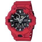ショッピングShock G-SHOCK Gショック ジーショック カシオ CASIO アナデジ 腕時計 ブラック レッド GA-700-4AJF 国内正規モデル