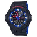 ショッピングShock G-SHOCK Gショック ジーショック カシオ CASIO アナデジ 腕時計 ブラック ブルー レッド ホワイト GA-700LT-1AJF 国内正規モデル