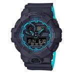 ショッピングShock G-SHOCK Gショック ジーショック カシオ CASIO アナデジ 腕時計 ブラック  ブルー GA-700SE-1A2JF 国内正規モデル