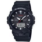 ショッピングShock G-SHOCK Gショック ジーショック カシオ CASIO アナデジ 腕時計 ブラック GA-800-1AJF 国内正規モデル