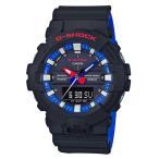 ショッピングShock G-SHOCK Gショック ジーショック カシオ CASIO アナデジ 腕時計 ブラック ブルー レッド ホワイト GA-800LT-1AJF 国内正規モデル