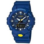ショッピングShock G-SHOCK Gショック ジーショック カシオ CASIO アナデジ 腕時計 ブルー イエロー GA-800SC-2AJF 国内正規モデル