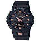 ショッピングShock G-SHOCK Gショック ジーショック カシオ CASIO アナデジ 腕時計 ブラック ローズゴールド GA-810B-1A4JF  国内正規モデル