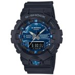 ショッピングShock G-SHOCK Gショック ジーショック カシオ CASIO アナデジ 腕時計 ブラック ブルー GA-810MMB-1A2JF 国内正規モデル