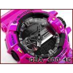 Gショック ジーショック G-SHOCK カシオ CASIO 限定モデル ジーミックス G'MIX Bluetooth アナデジ 腕時計 ブラック メタリックパープルピンク GBA-400-4C