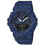 ショッピングShock G-SHOCK Gショック ジーショック G-SQUAD ジー・スクワッド カシオ CASIO  Bluetooth モバイルリンク アナデジ 腕時計 ネイビー GBA-800-2AJF 国内正規モデル