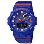 ショッピングShock G-SHOCK Gショック ジーショック G-SQUAD Bluetooth モバイルリンク機能  カシオ アナデジ 腕時計 ブルー オレンジ ホワイト GBA-800DG-2AJF 国内正規モデル