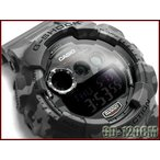 ショッピングG-SHOCK G-SHOCK ジーショック Gショック 限定モデル カモフラージュシリーズ デジタル 腕時計 カモフラ柄 グレー GD-120CM-8