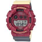 ショッピングShock G-SHOCK Gショック ジーショック ノーコンプライ MAROK マーロック カシオ CASIO デジタル 腕時計 レッド ベージュ グレー GD-120NC-4JF 国内正規モデル
