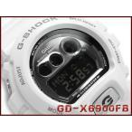 ショッピングShock G-SHOCK Gショック ジーショック g-shock gショック ビッグケース ホワイト×メタリックシルバー GD-X6900FB-7JF CASIO 腕時計