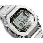 G-SHOCK Gショック 35周年記念 限定 フルメタル 日本製 逆輸入海外モデル 電波ソーラー 腕時計 シルバー GMW-B5000D-1 カシオ GMW-B5000D-1ER
