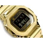 G-SHOCK Gショック 35周年記念 限定 フルメタル 日本製 逆輸入海外モデル 電波ソーラー 腕時計 ゴールド GMW-B5000GD-9の画像