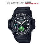 ショッピングShock G-SHOCK Gショック ジーショック GULFMASTER ガルフマスター CASIO カシオ アナデジ 腕時計 ブラック エメラルドグリーン GN-1000MB-1AJF 国内正規モデル