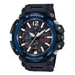 ショッピングShock G-SHOCK Gショック ジーショック 限定 グラビティマスター GPS 電波ソーラー カシオ CASIO 腕時計 ブルー ブラック GPW-2000-1A2JF 国内正規モデル