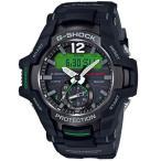ショッピングShock G-SHOCK Gショック ジーショック グラビティマスター カシオ CASIO アナデジ 腕時計 ソーラー モバイルリンク ブラック GR-B100-1A3JF 国内正規モデル