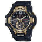 ショッピングShock G-SHOCK Gショック ジーショック マスターオブG カシオ CASIO ソーラー モバイルリンク アナデジ 腕時計 ブラック ゴールド GR-B100GB-1AJF 国内正規モデル