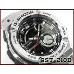 CASIO Gショック G-STEEL 腕時計 GST-210D-1ACR