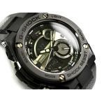 G-SHOCK Gショック G-STEEL Gスチール 逆輸入海外モデル カシオ 腕時計 ブラック グレー マーブル柄 GST-210M-1A