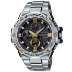 ショッピングShock G-SHOCK Gショック ジーショック G-STEEL Gスチール カシオ CASIO ソーラー メンズ 腕時計 ゴールド GST-B100D-1A9JF 国内正規モデル