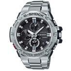 ショッピングG-SHOCK G-SHOCK Gショック G-STEEL Gスチール Bluetooth カシオ CASIO ソーラー メンズ 腕時計 ブラック シルバー GST-B100D-1AJF 国内正規モデル