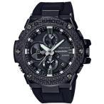 ショッピングShock G-SHOCK Gショック G-STEEL Gスチール Bluetooth モバイルリンク機能 カシオ CASIO ソーラー メンズ 腕時計 ブラック GST-B100X-1AJF 国内正規モデル