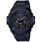 ショッピングShock G-SHOCK Gショック ジーショック G-STEEL Gスチール カシオ CASIO 電波 ソーラー メンズ 腕時計 オールブラック GST-W300G-1A1JF 国内正規モデル